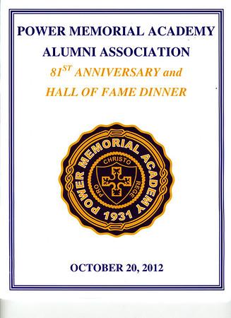 2012 PMA Hall of Fame Dinner