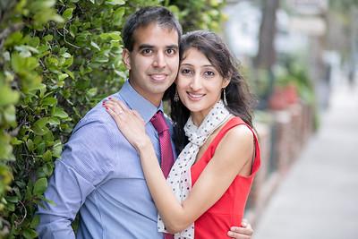 ENGAGED : Ashwini + Amit