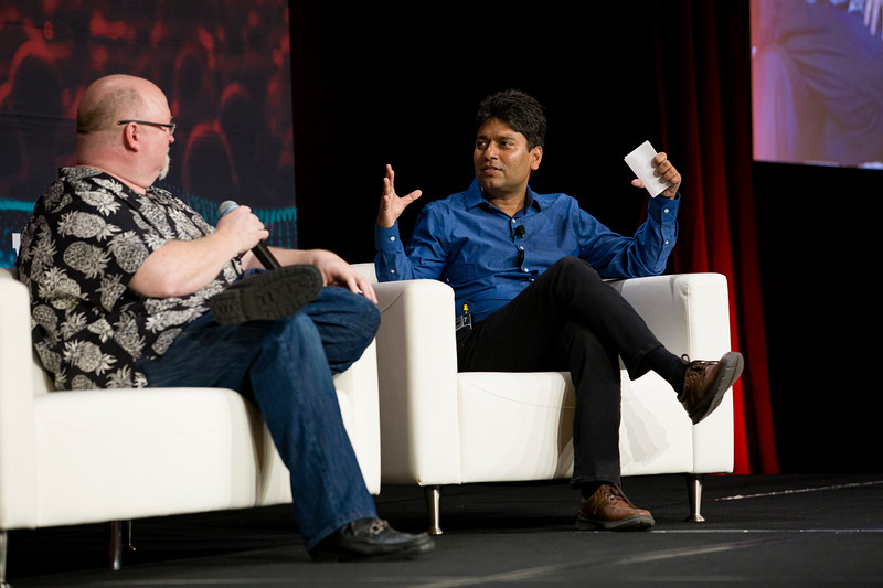 Kevin Scott, EVP & CTO, Microsoft  Moderator: Deepak Agarwal, VP of Artificial Intelligence, LinkedIn  Fireside Chat
