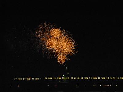 Fireworks at Futako-Tamagawa