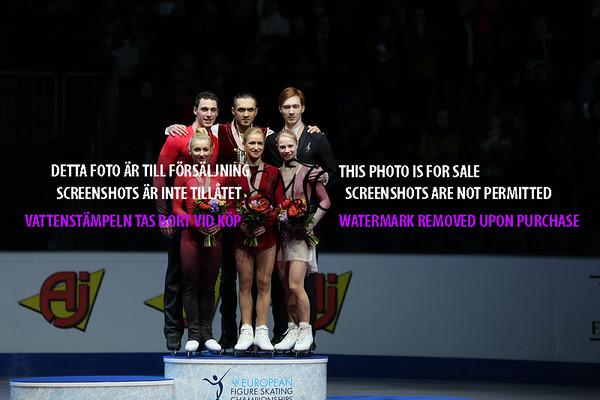 European Championships 2016 Pairs Free Program