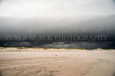 Island Beach State Park Storm 2017