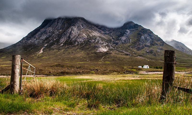 Buachaille Etive Mor mountain in the Scottish Highlands