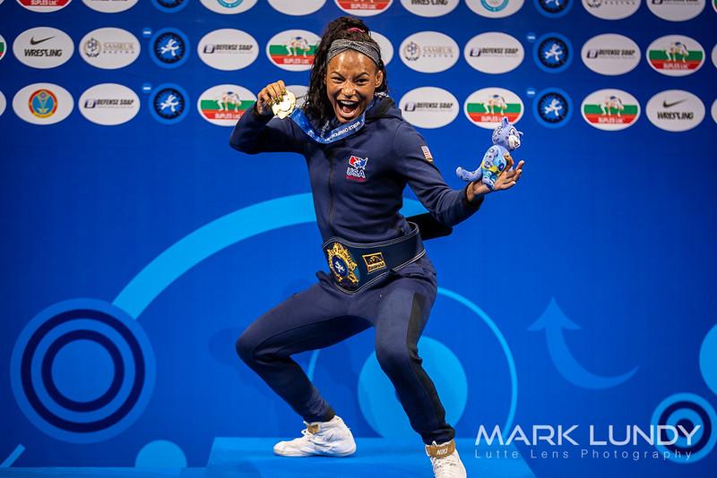 1st Place Match: Jacarra Gwenisha Winchester (United States) over Nanami Irie (Japan)  •  Dec 5-3 - 2019 World Championships