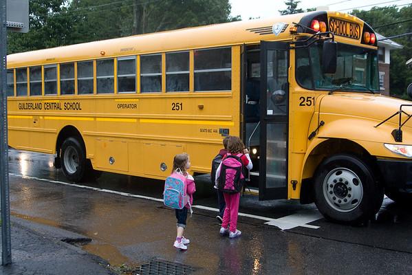 2011-09-07 Beverly starts Kindergarden