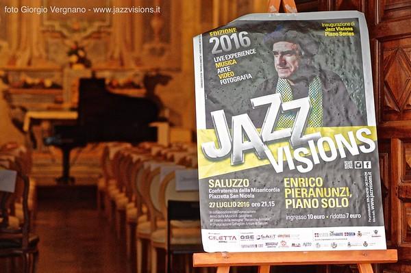 Enrico Pieranunzi, piano solo - 27 luglio 2016, Confraternita della Misericordia, Saluzzo