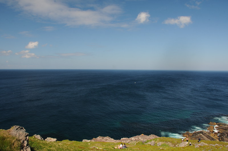 Visitors to the Ferryland Lighthouse may pre- order a picnic lunch before they arrive and then enjoy the ocean and the whales as they lounge on the grassy slopes.