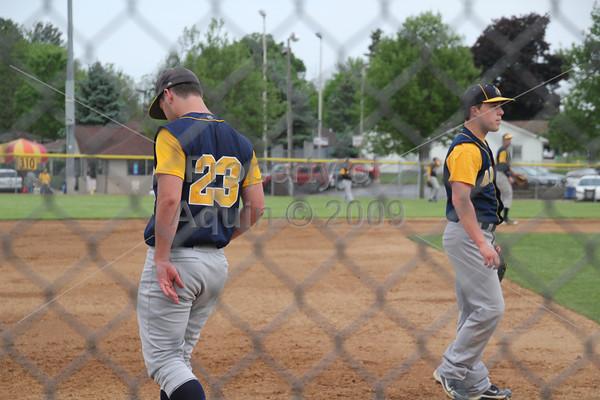 varsity baseball sectional semi-final v. christian liberty academy (arlington heights) . 5.28.14