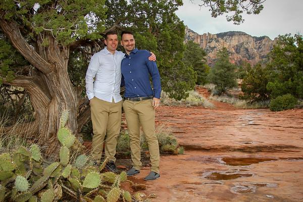 Damon and Paul's Sedona Wedding