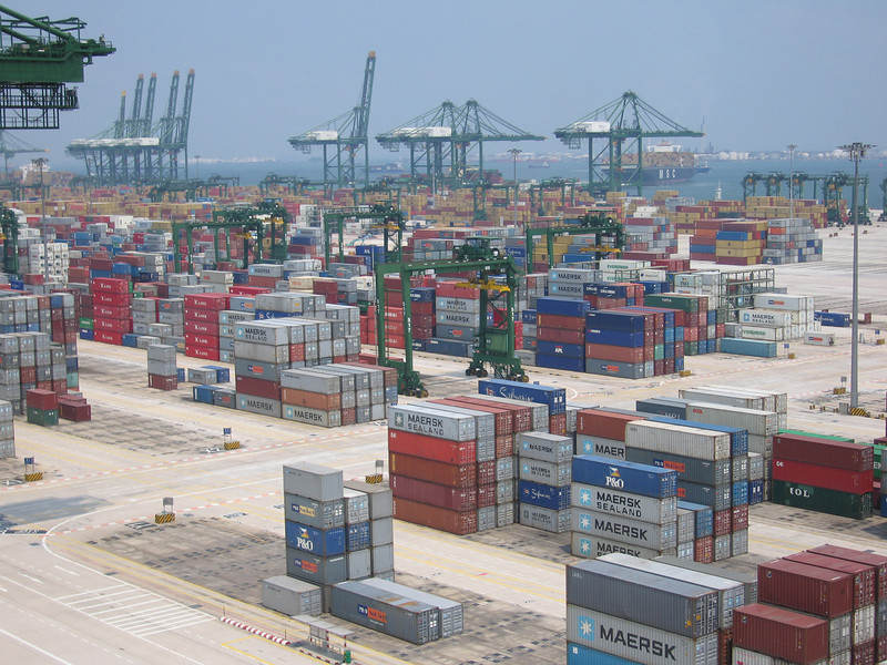 PSA container terminal