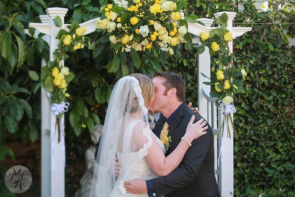 Levi & Mariah's Garden Wedding