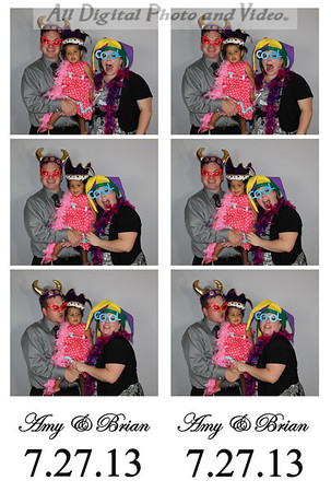 7.27.13 Amy & Brian Photobooth