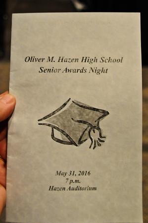 Hazen 2016 Senior Awards
