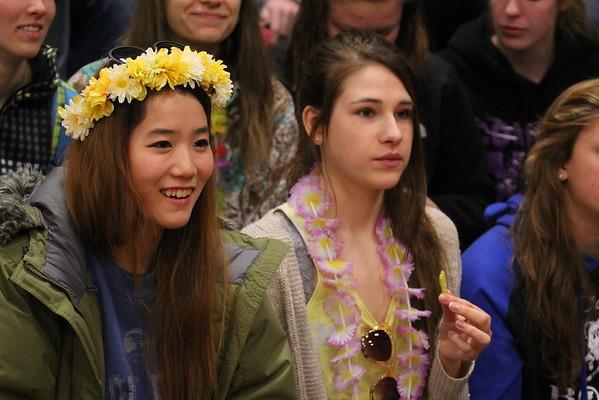 Homecoming Games - Wed - 2/18/15 - KCHS
