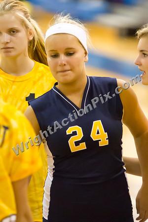 2012 10 11 Clarkston Freshman Volleyball vs Rochester