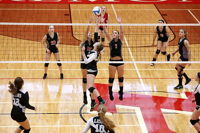 Girls JV Volleyball - 10/3/2017 Newaygo