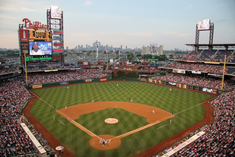 BASEBALL PARKS - CITIZENS BANK PARK - PHILADELPHIA PHILLIES