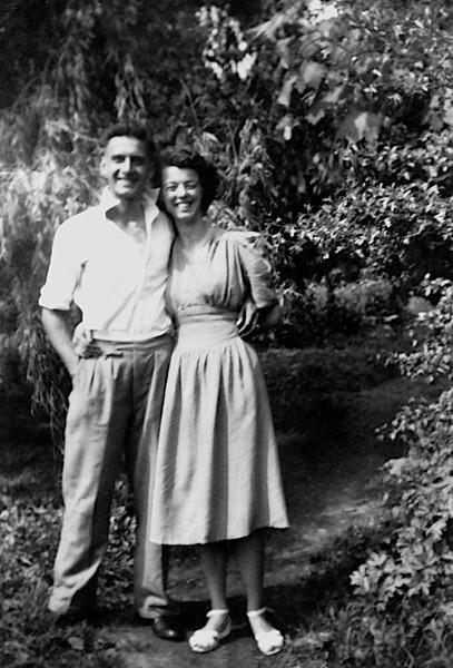 Richmond: A romantic setting May 1949