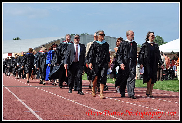 OTHS 2012 Graduation - Procession of Graduates