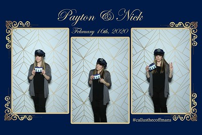 2-16 Payton and Nicks Wedding