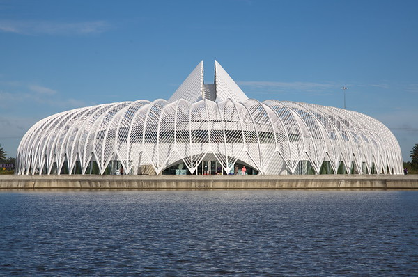 Calatrava Building at Florida Polytechnic University