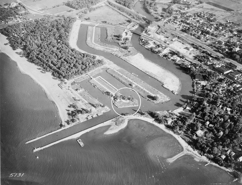 1932 proposed yacht club site