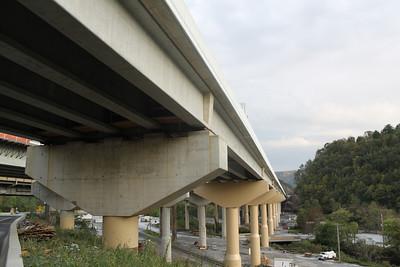 New Bridge Construction, Turnpike, Lehighton (9-30-2011)