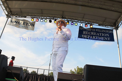 R&B singer, Howard Hewett performs live at the 34th Annual Willingboro Jazz & Music Festival