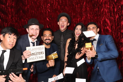 Databricks Holiday Party 2019 - SF Gangster