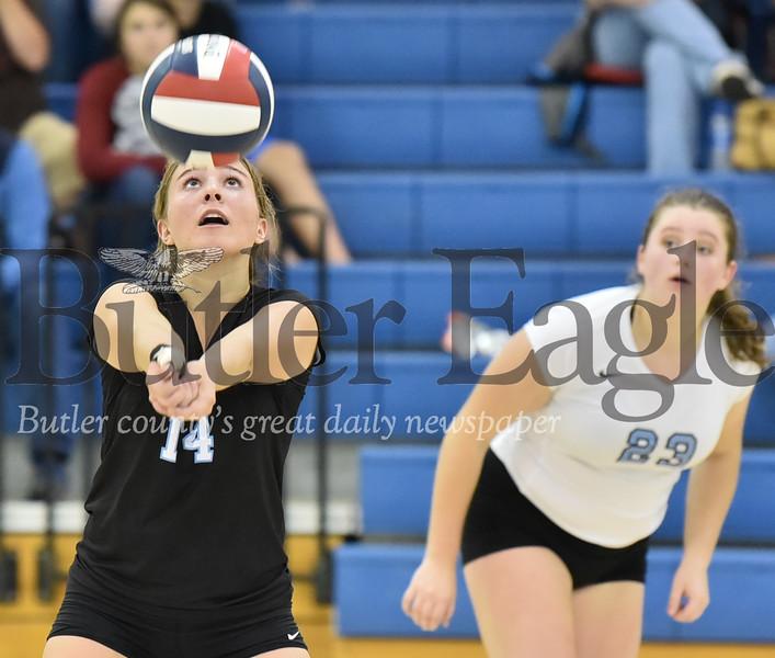 10947 Butler vs Seneca Valley WPIAL 4A Girls Volleyball at Butler High School