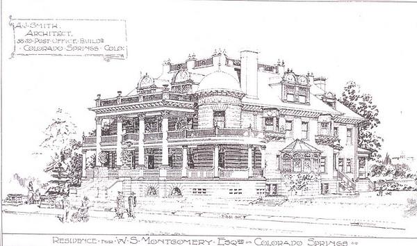 Jackson House Rendering 1900