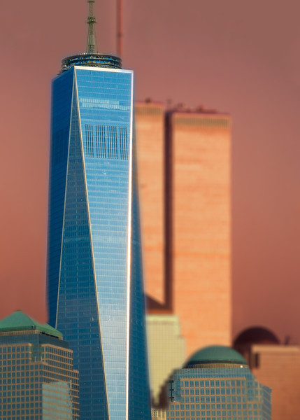 Freedom Tower - World Trade Center Montage