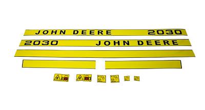 JOHN DEERE 2030 SERIES BONNET DECAL SET