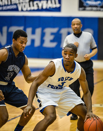 Basketball Boys Varsity vs  Lamar 01-21-14-7