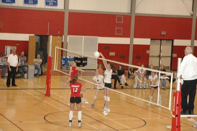 Girls Varsity Volleyball  - 2005-2006 - 2/23/2006 vs. Ludington JG