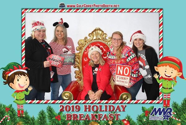 MWR Breakfast Santa 2019
