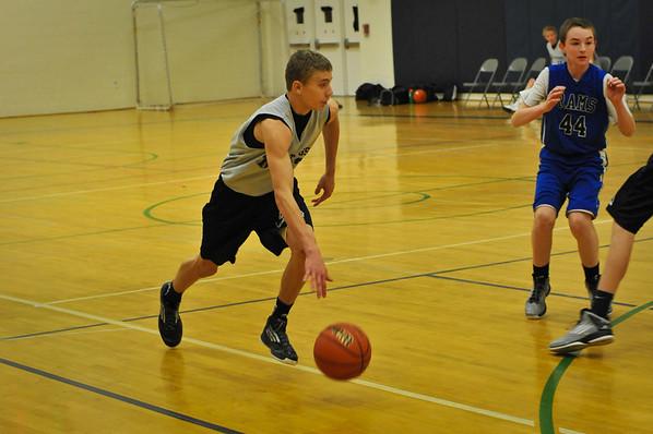 Jr. Mustangs Basketball 8th Grade 12/23/12