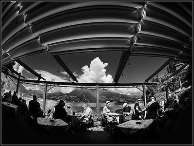 Varenna in black and white (Lecco - Como Lake)