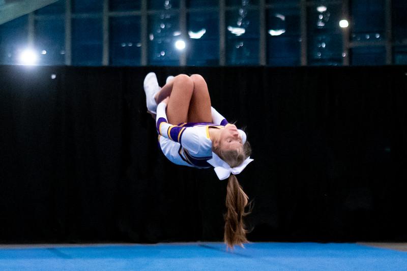 Broughton cheerleading Pre-States. November 16, 2019. D4S_1662