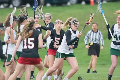 Methacton girls lacrosse plays Boyertown