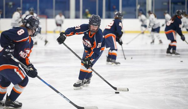 Milton Academy Girls' Hockey vs. Nobles - Feb 20, 2020