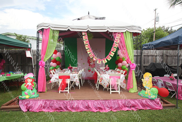Kelis 5th Strawberry Shortcake Party/Tea Party