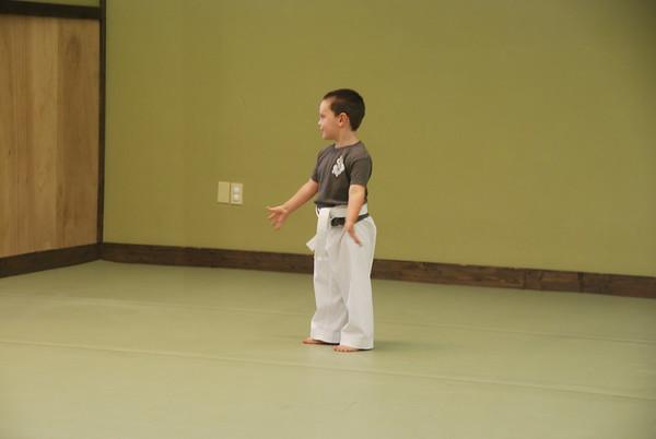 Cash at Karate