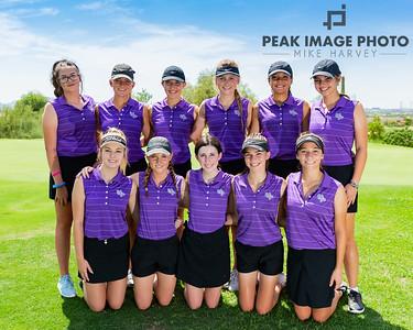 Girls Golf 2018 at MMR Golf Club