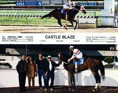 CASTLE BLAZE - 11/12/1998