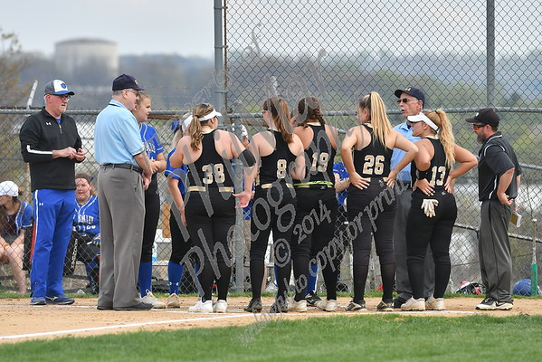 Berks Catholic vs Oley Valley Softball 2018 - 2019
