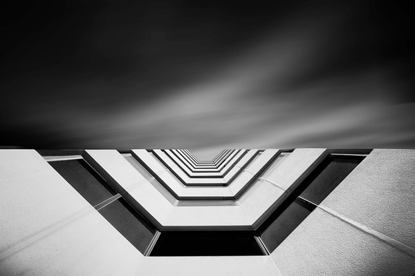 Black and White Fine Art Architectural Photography