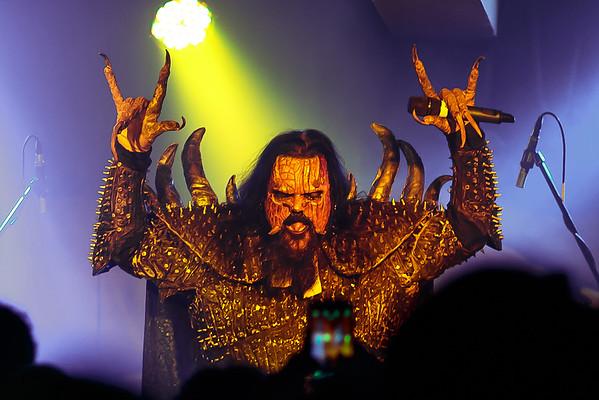 Lordi @ Manchester Club Academy