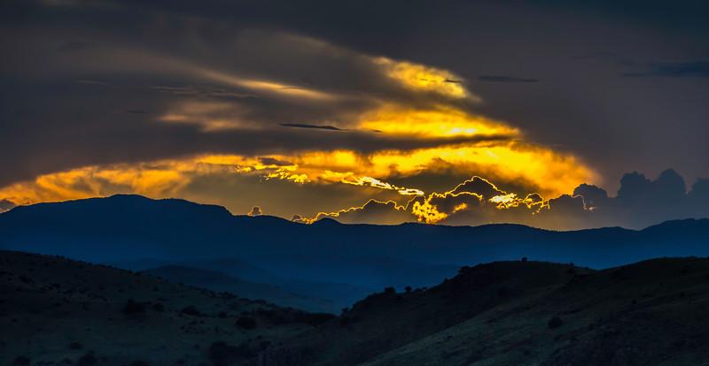 Davis Mountain sunset - Texas