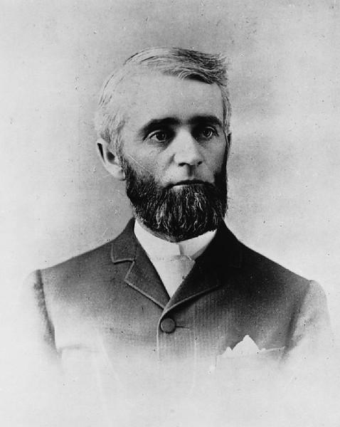Henry G. Bennett, a pioneer of Pasadena, after 1874